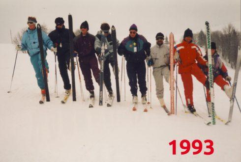 Tým lyžařské školy - rok 1993